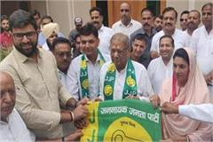former mla mangeram gupta who has left political parties joins jjp