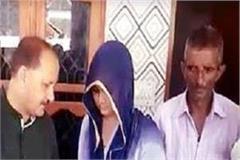 jairam government gave check of 15 lakhs to martyr tilak raj wife