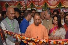cm yogi worshiped at kashi vishwanath temple