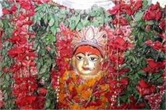 faith heavy on rain mother shailputri darshan on first