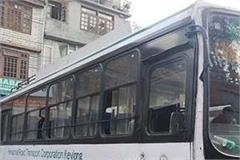 capture private buses running without permits