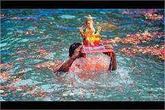 artificial pond will be built in noida for ganpati immersion