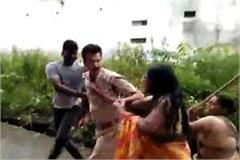 excise officer catch illegal liquor assaulted women beaten baton