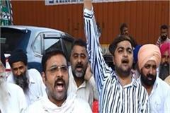 transporters protest against modi government