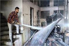 explosion in paint factory in amritsar