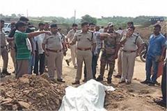 dead body of bsp mla relative found buried in soil