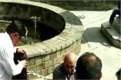 increasing cracks on shimla historic ridge tank