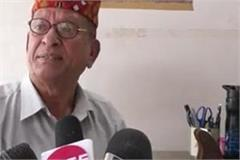 ex serviceman expresses anger over rigging in panchayat s development work