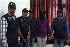 stf gets huge success gangster worth 2 lakh arrested
