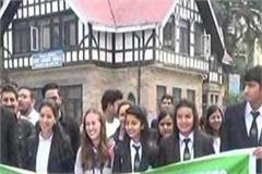 students of hpu s tourism department organize heritage walk