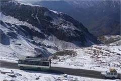 now hrtc buses will not run on delhi leh route