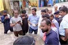 bhopal immersed water again minister pc sharma took command