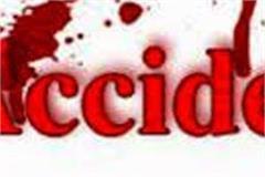 paonta sahib road accident one death