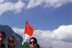 press club kullu team in glacier