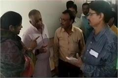imrati devi surprise inspection in hospital