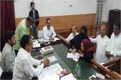 tanzeem fatima filed nomination