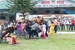 fight in college