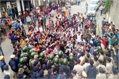 nusi protest out of secretariat