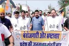 youth congress protest in una