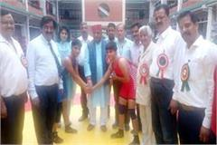 bilaspur overall champion in inter college women wrestling competition
