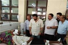 batala factory blast sunny deol arrived to know the condition of injured