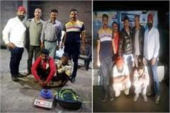 4 arrested with hashish and heroin