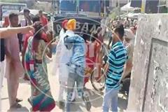 rama mandi chowk jalandhar women thieves gang beaten
