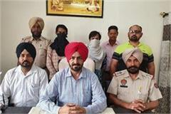 gangster chintu and his partner arrested with heroin