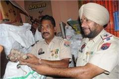 a cache of firecrackers was found in bathinda warehouse sealed
