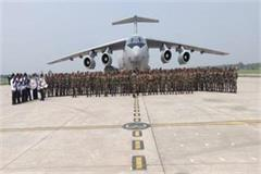 indian army contingent returns to russia after maneuvers in russia