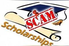 students disclosure in scholarship scam