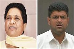 bsp jjp alliance broken in haryana mayawati told that reason