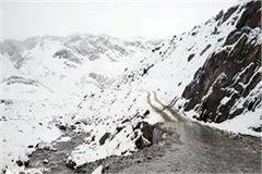 snowfall in peaks