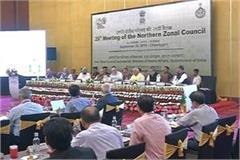 home minister amit shah s meeting of northern zonal council