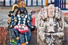 in navratri the thieves disbanded the goddess statue in the temple