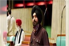 live cut of navjot singh sidhu praising the chief minister