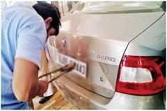 vehicle drivers installing  high security number plate  get big relief