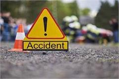 bike tipper collision in palakwah two killed
