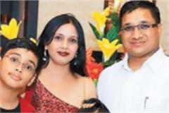 businessman finished the entire family in one stroke
