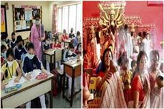 educational institutions will open after october 15 religious events allowed