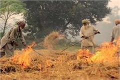 farmers burning straw unconscious farmers with paper fines