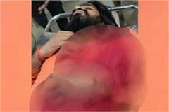 after rajasthan temple priest shot dead in gonda stirred up