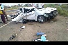 three people of indore died in accident