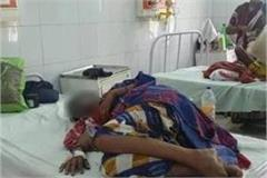 gonda acid attack on 3 dalit minor sisters 1 in critical condition