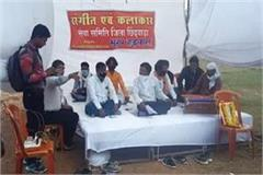 artist organizations sit on hunger strike chhindwara