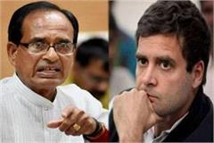 shivraj said on rahul s farmers rally