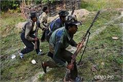 encounter between paramilitary forces and maoists