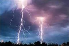 three laborers injured one laborer killed by lightning