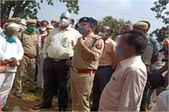 chitrakoot gang rape last rites of victim in presence of family