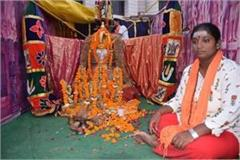 rajalakshmi  arrives in ayodhya with 613 kilo hours